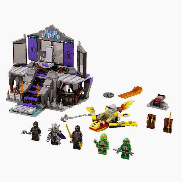 TOYS : JUGUETES - LEGO Tortugas Ninja : Ninja Turtles  79122 Rescate en la Guarida de Shredder Teenage Mutant Ninja Turtles | Shredder's Lair Rescue  Producto oficial 2014 | 478 piezas | Edad 7-14 años