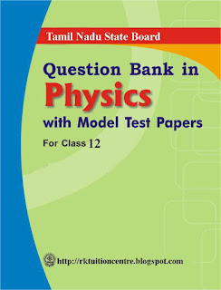 TN Plus two 2 Maths Previous year Question Papers