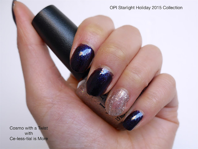 OPI - Cosmo with a Twist and Ce-less-tial is More
