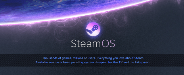 Valve announces SteamOS which is Linux-based, free and coming soon