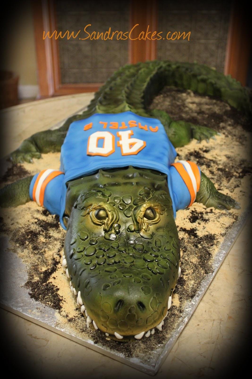 On Birthday Cakes Florida Gators Cake
