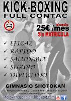 Promoción Kick Boxing
