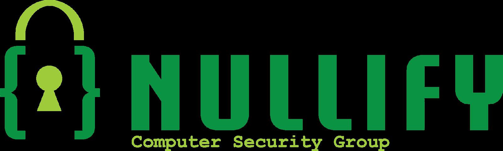 Nullify CTF Team