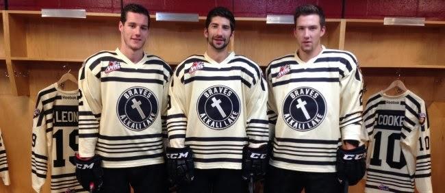 Hockey Blog In Canada  Giants Honour Braves cc77308d0