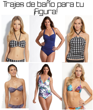 Trajes de ba os para diferentes tipos de cuerpo moda lista for Tipos de banos
