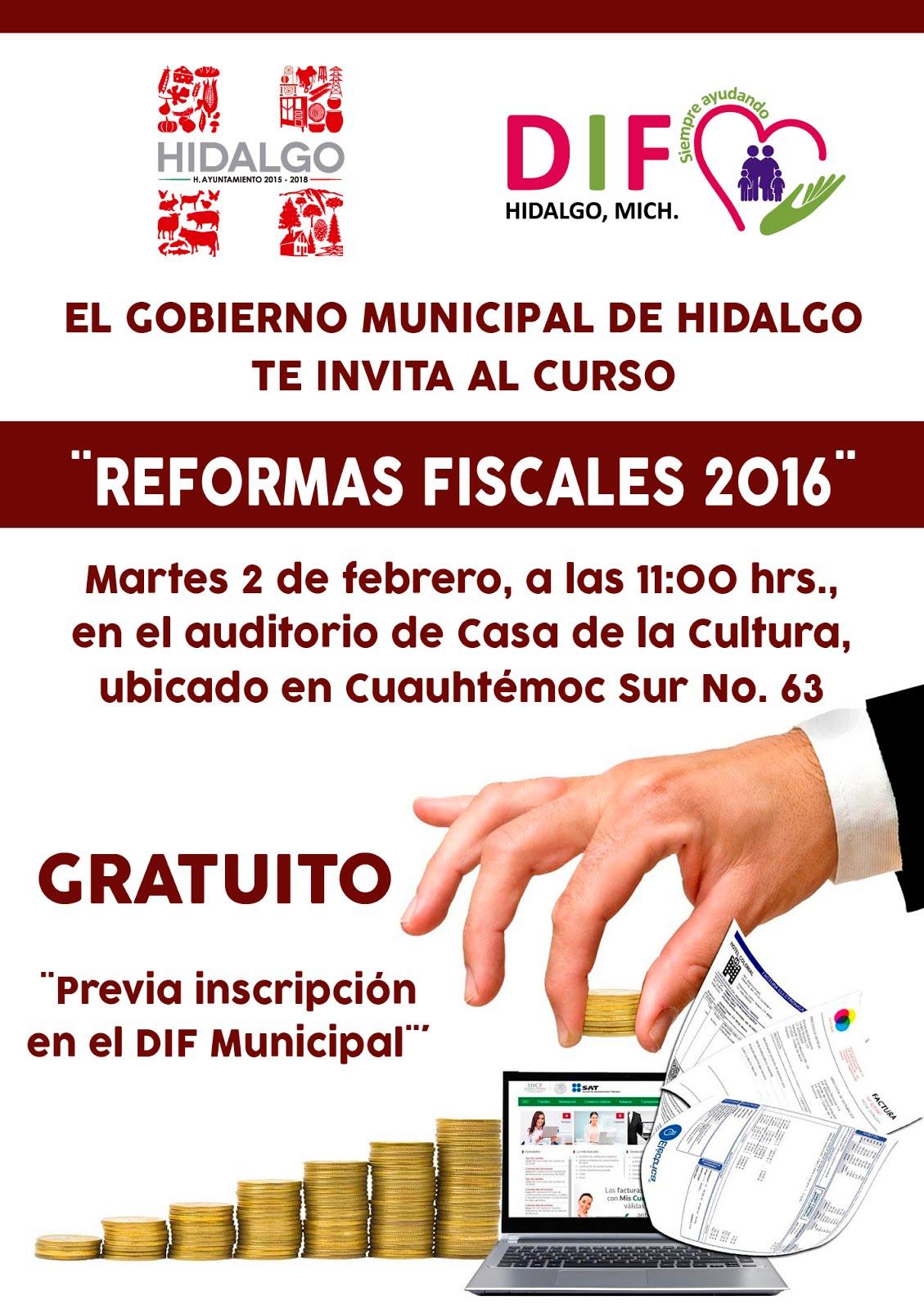 CURSO DE REFORMAS FISCALES 2016
