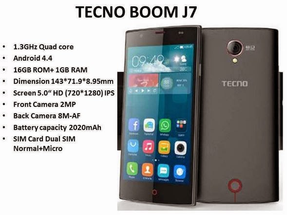 Tecno Boom J7