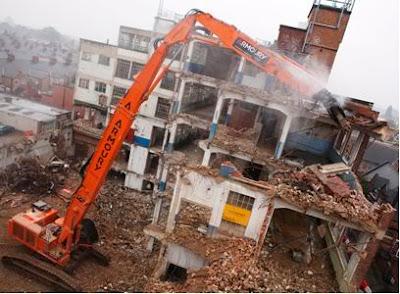 tháo dỡ công trình nhà giá rẻ
