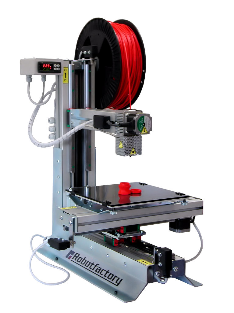 Impresoras 3d impresora 3d robot factory for Construir impresora 3d