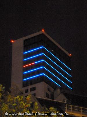 fetival of lights, berlin, illumination, 2012, Hotel Waldorf Astoria