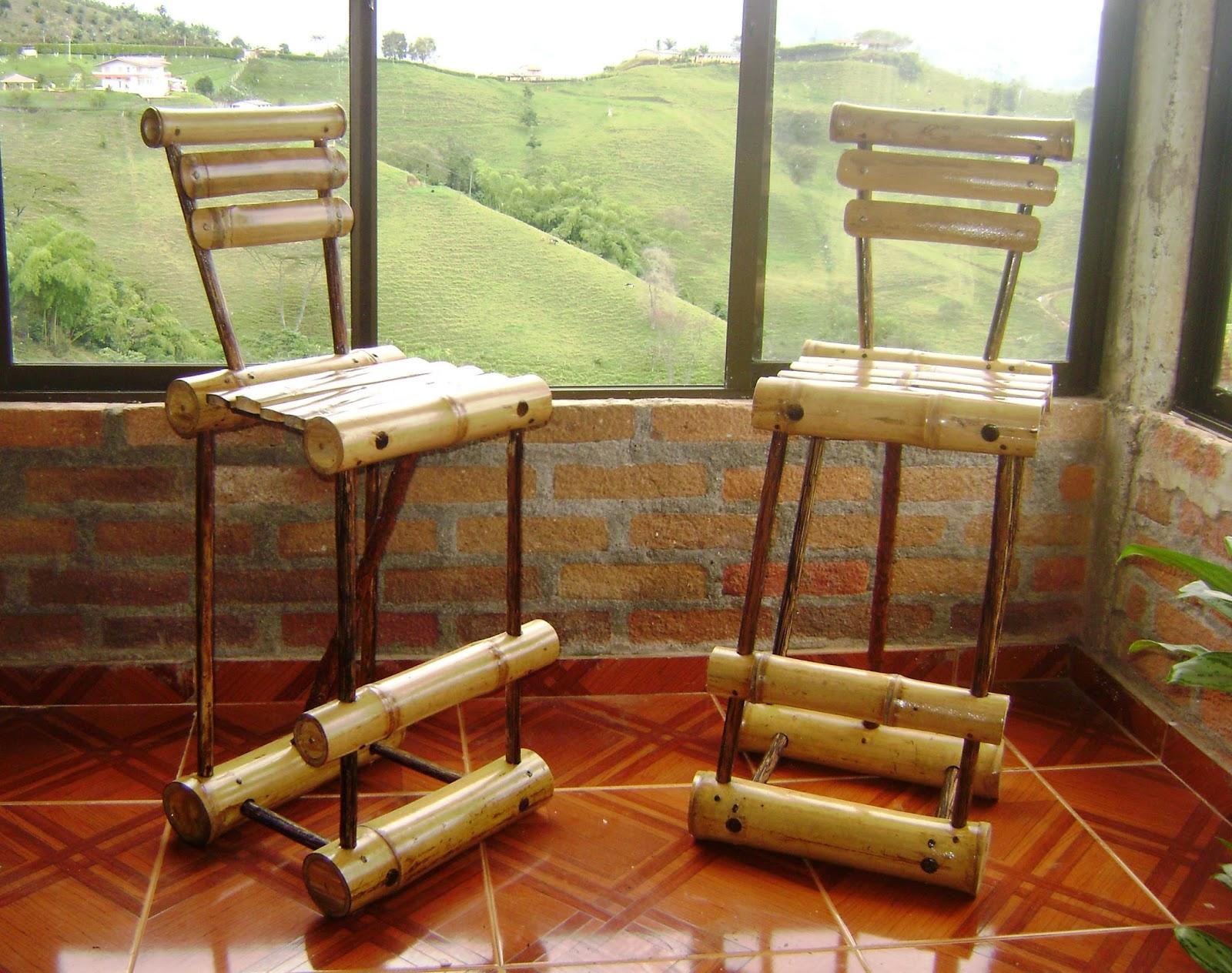 ara taller artesanal butacos y sillas en guadua caf y