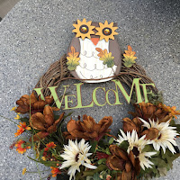 Welcome Autumn Wreath 2016