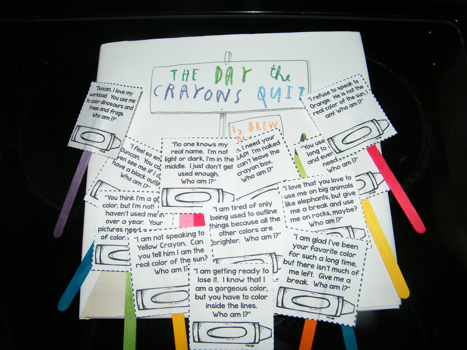 the day the crayons quit activities pdf