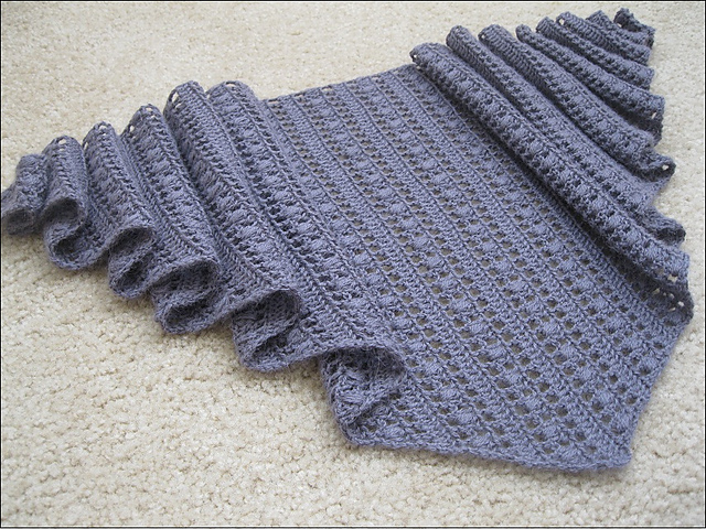 Knitting&Crochet Obsession: Free Shawl Pattern