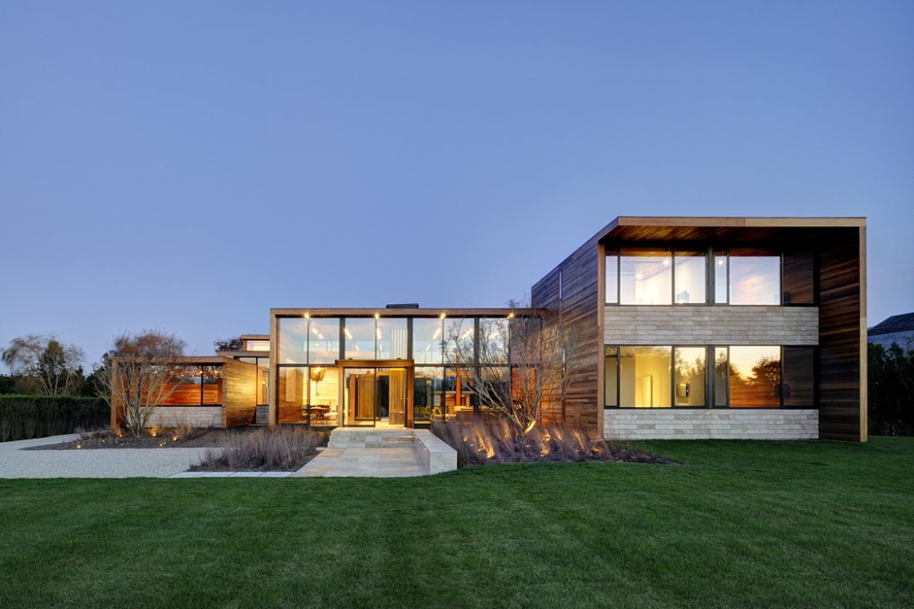 Neocribs Modern Timber House Design Sam 39 S Creek Bridgehampton New