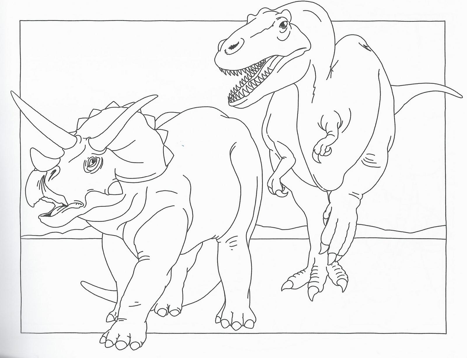 Disegni da colorare disegni da colorare i dinosauri for Disegni pesciolini da colorare