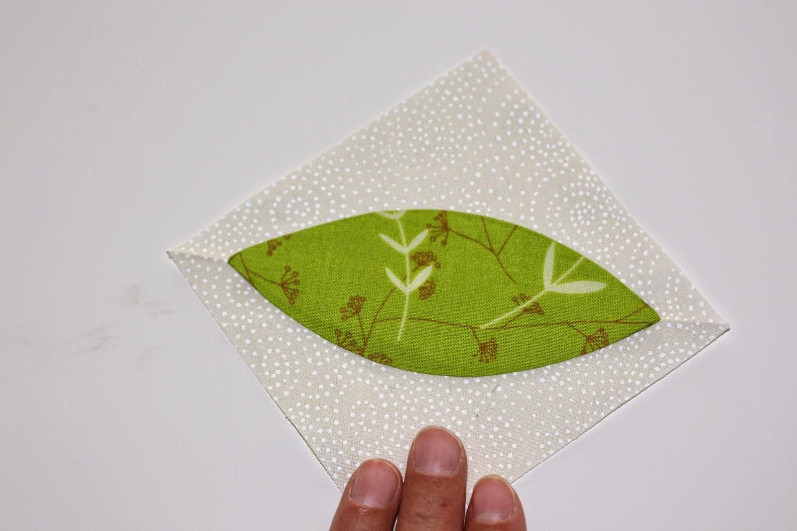 Freezer paper appliqué irarott quilting