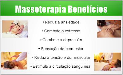 Massoterapia Benefícios
