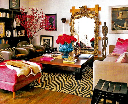 bohemian wednesday: Bohemian Interior Design Ideas