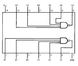 konfigurasi ic 7420