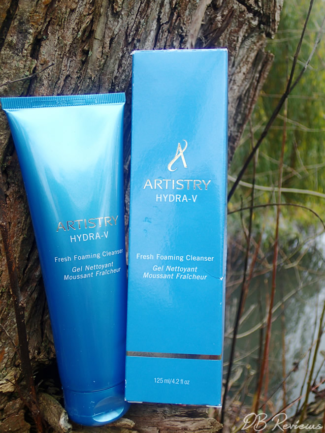 The Artistry Hydra-V Fresh Foaming Cleanser  Review and Giveaway