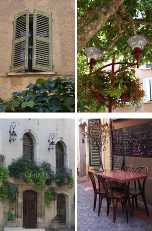 Old basics oude luiken de sfeer van frankrijk for Hangdecoratie raam
