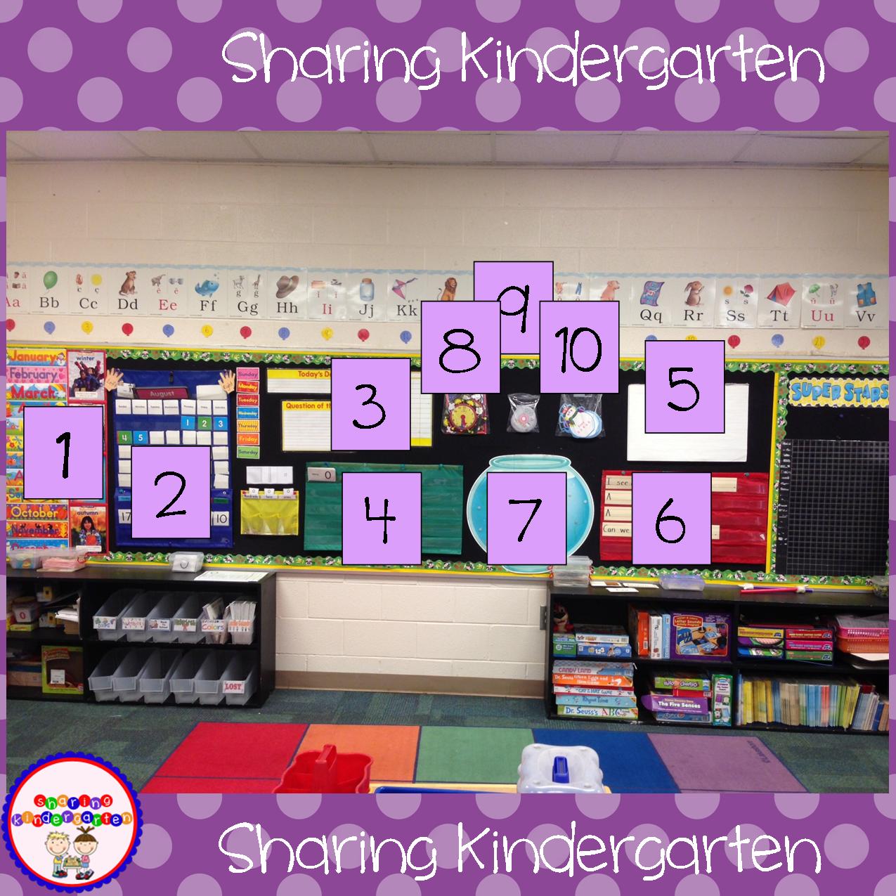 Calendar Time Kindergarten Ideas : Sharing kindergarten calendar time summer linky party