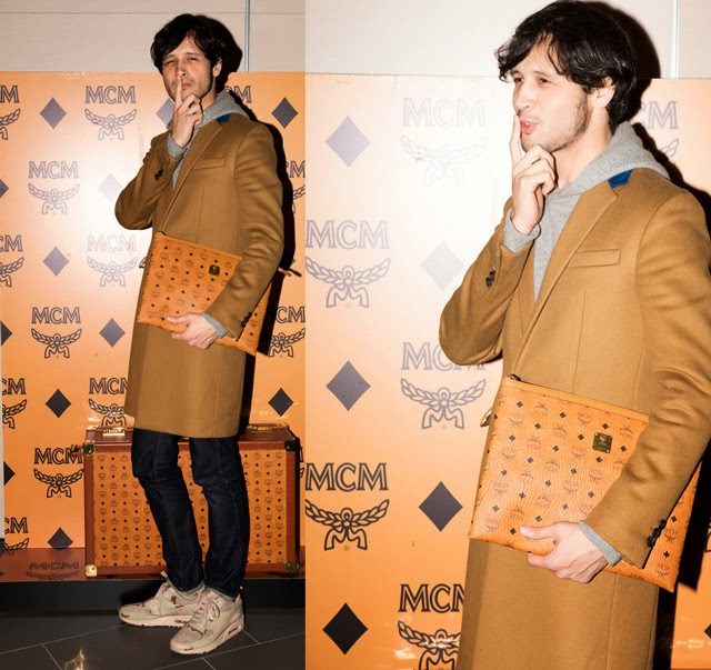 Rihito in Prada - MCM Party, Japan
