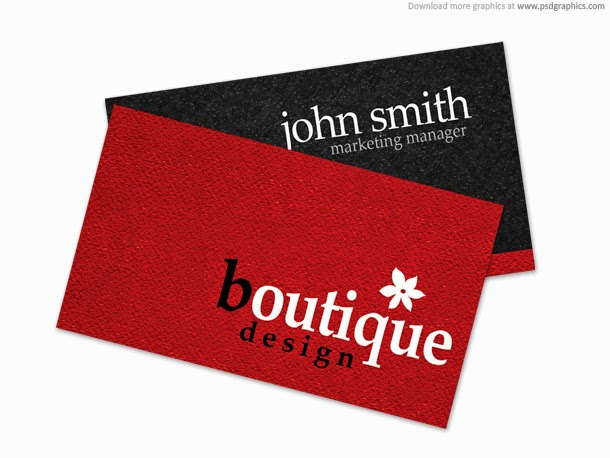 Boutique Business Card PSD