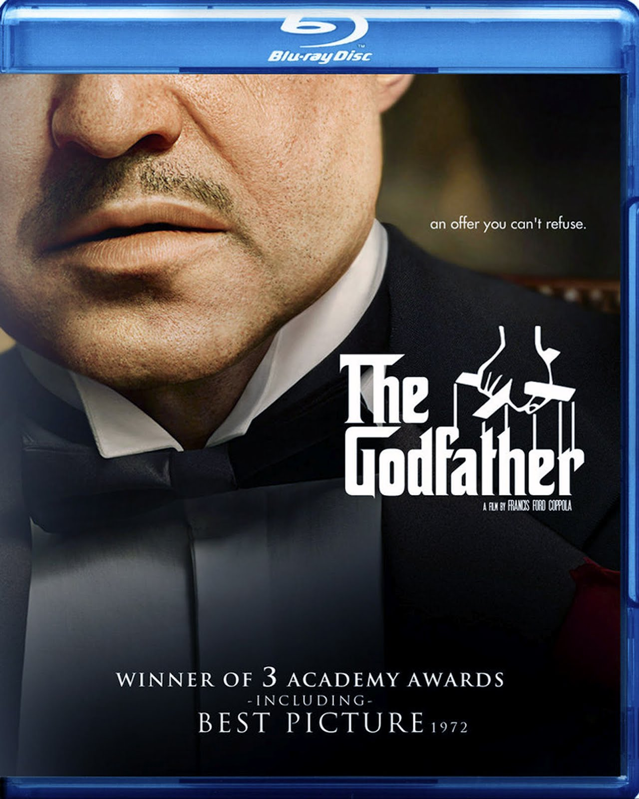 The Godfather Blu-ray DVD Case