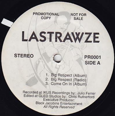 Lastrawze – Big Respect / Come On In / Sneak Peek (Promo VLS) (1995) (FLAC + 320 kbps)
