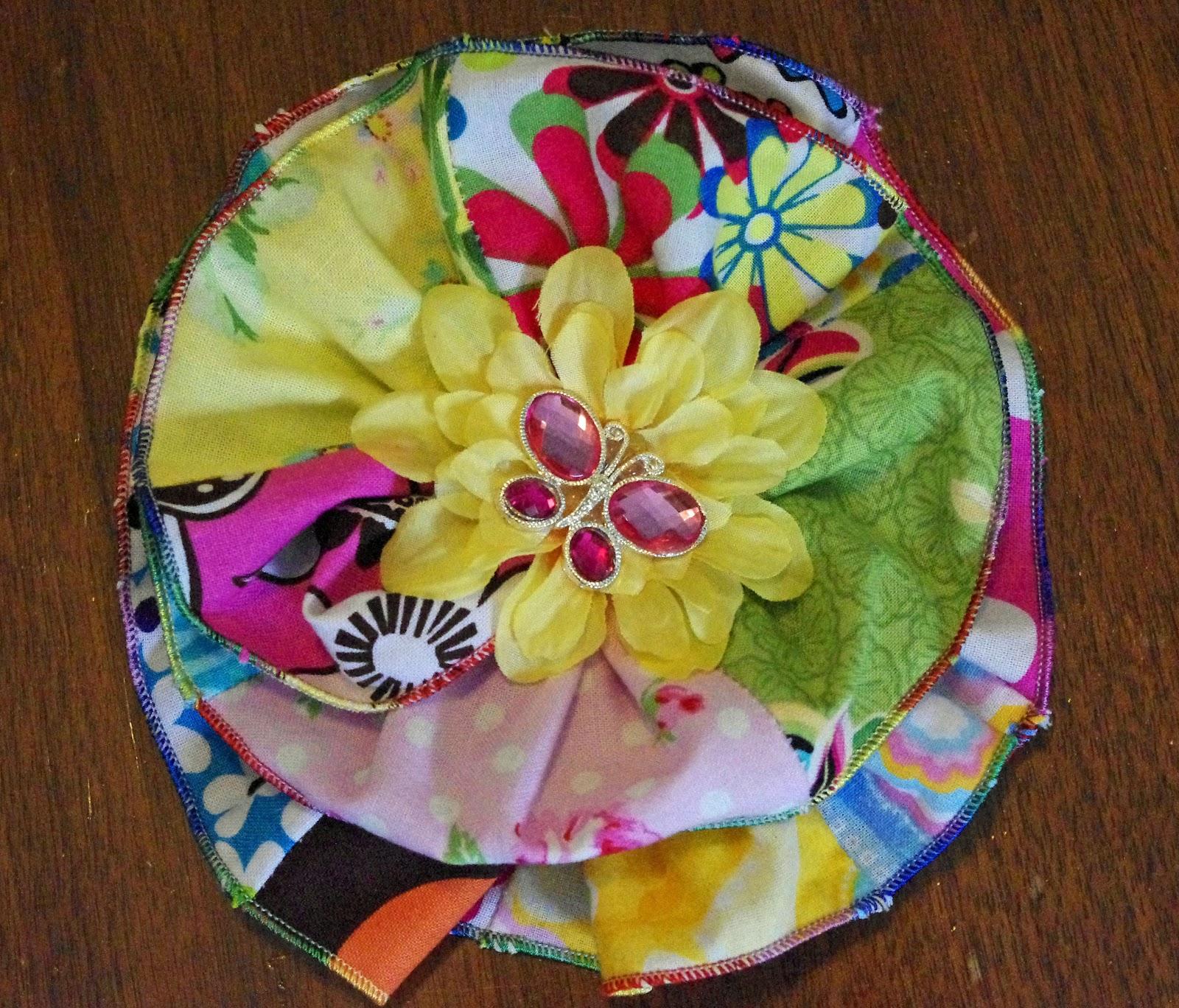 SquigglyTwigs Designs Tuesdays Tute Flower Belt