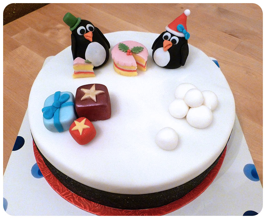 Images For Christmas Cake Decorations : Suzie Makes: Making Christmas Cake