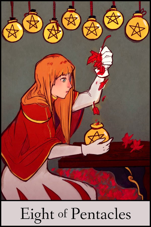 http://kriskuna.deviantart.com/art/Tarot-Event-Eight-of-Pentacles-368825429