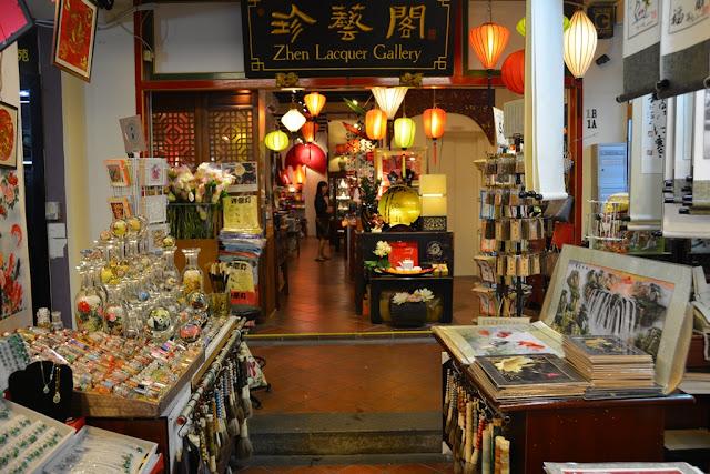 Chinatown Singapore Zhen Lacquer