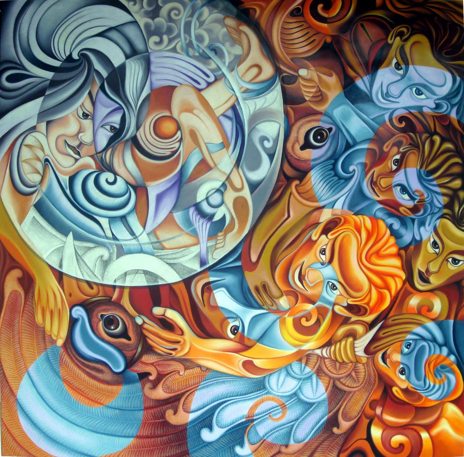 Seni Rupa Murni | Art World