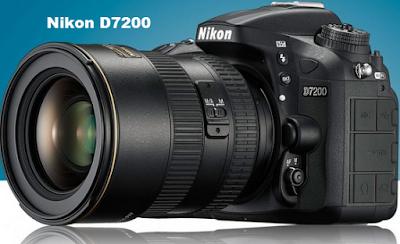 Spesifikasi dan Harga Kamera Nikon D7200 Tahun 2015