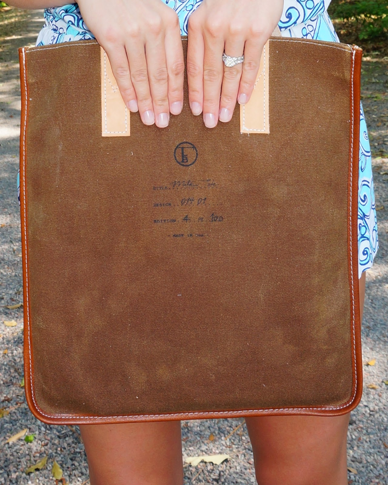 Flea bag woodland Milk tote