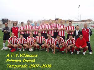 A.F.V.VILADECANS. 2007-08