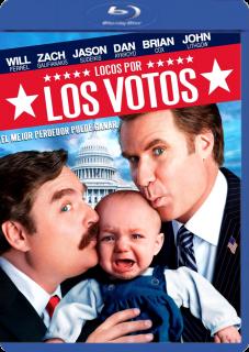 Carátula Locos por los votos película  brrip latino 2012