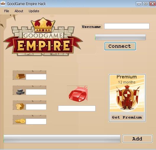goodgame empire hack tools
