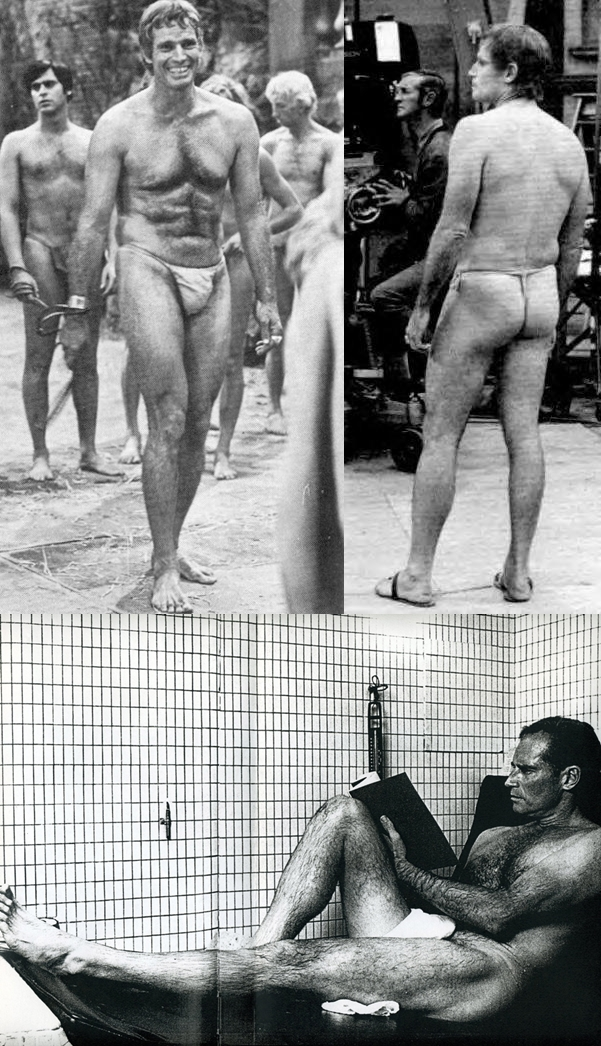 Charlton Heston Nude