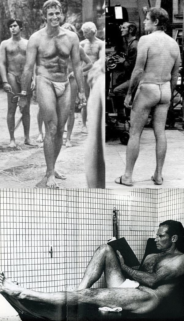 Pla Of The Apes Charlton Heston Nude