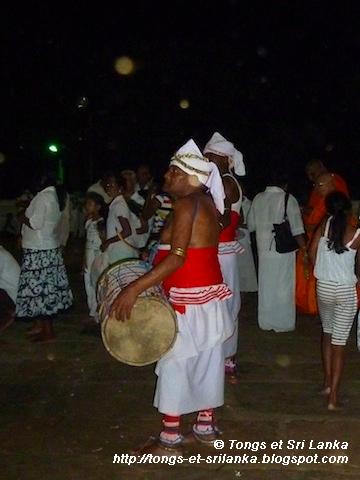 tambours au Sri Lanka