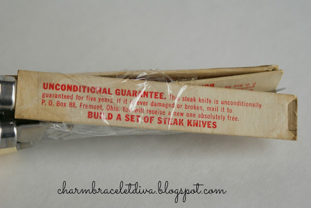 vintage Shell gas station steak knife giveaway