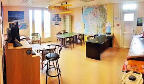 Salle de préparation des vols