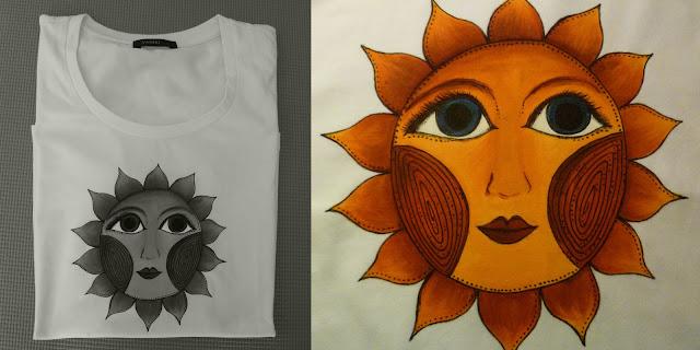 Tričko se sluníčkem