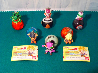 Gashapon Dragon Ball Kai Capsule Collection