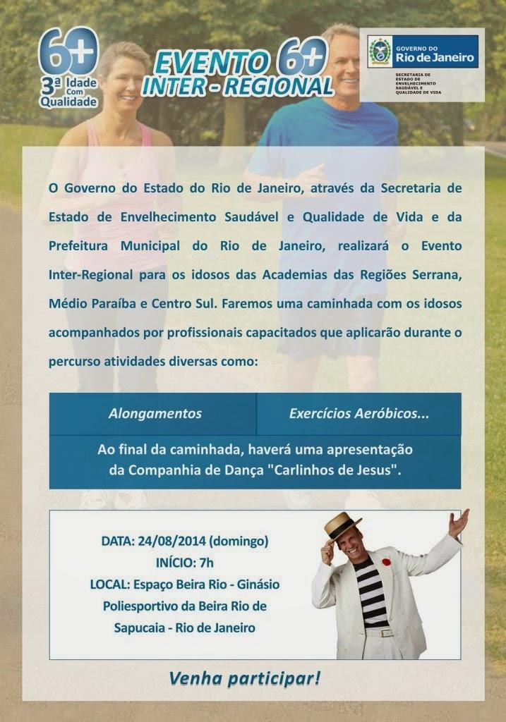 Convite Evento Inter-Regional da SEESQV em Sapucaia