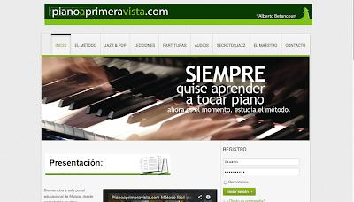 Directorio Musical para tu web www.pianoaprimeravista.com  Método autodidáctico de Piano a primera vista. Lecciones avanzadas de ejecución pianística, armonía moderna, jazz, improvisación, ritmos latinos. Partituras gratis de música clásica, latinoamericana, colombiana, guatemalteca, navideña e himnos.